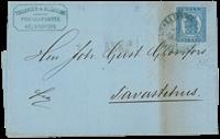 Finland - 1873 - 20p med kuvert