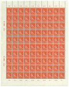 Finland - 1942 - Finlands løve 75p - orange - LAPE  nr. 261