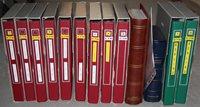 Allemagne de l'Ouest - Cartes premier jour en 12 volumes
