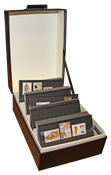 Archive box bundle - C6 Archive box LOGIK + 100 st. A6 stockcards
