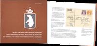 Grønland - Bogen om 100-året for pakkeporto-mærker  i Grønland