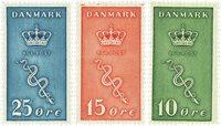 Danemark 1929 - AFA 178-80 - Neuf