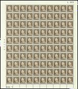 Danmark - Postfrisk helark AFA 393F