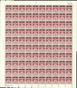 Danmark - Postfrisk helark AFA 28 marginal nr. 1929