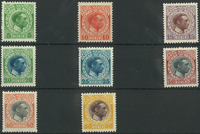 Dansk Vestindien - AFA 44-51 postfrisk