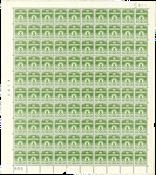 Danmark - Postfrisk helark AFA 256 maringal nr. 500