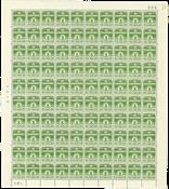 Danmark - Postfrisk helark AFA 256 marginal nr. 586
