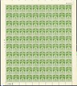 Danmark - Postfrisk helark AFA 256 marginal nr. 641