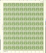 Danmark - Postfrisk helark AFA 256 marginal nr. 946