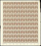 Danmark - Postfrisk helark AFA 255 marginal nr. 577