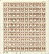 Danmark - Postfrisk helark AFA 255 marginal nr. 624