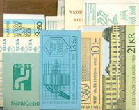 Sverige - Dubletlot postfriske hæfter