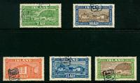 Island - AFA 114-118 - Stemplet