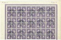 Danmark - AFA 136-139 blok med 60 frimærker