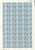 Danemark - Feuille entière neuve AFA 391F