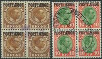 Danemark - Postfaerge 1 kr. et 10 kr.