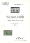 Danmark - 1907 5 øre Fr. VIII grøn, postfrisk