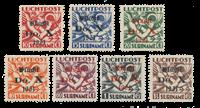 Suriname 1931 - NVPH LP 8-14 - Neuf