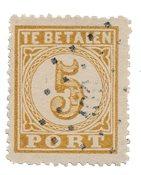 Indie hollandaise 1874 - NVPH P1 - Oblitéré