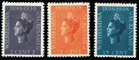 Surinam 1938 - NVPH 187/89 - Neuf avec charnière