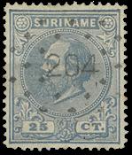 Surinam 1873-1889 - NVPH 10a - oblitéré