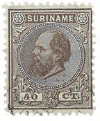 Surinam 1873-1889 - NVPH 12 - oblitéré