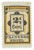 Surinam 1892 - NVPH 22 - Neuf avec charnière