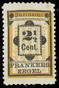 Suriname 1892 - NVPH 22 - ubrugt