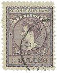 Surinam 1907 - NVPH 56 - oblitéré