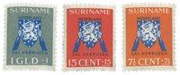 Surinam 1941 - NVPH 197/99 - Neuf avec charnière
