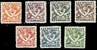 Suriname 1930 - Nr. LP1-7 - Ongebruikt