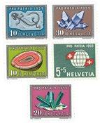 Suisse 1959 - Michel 674/78 - Neuf