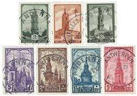 Belgique 1939 - OBP 519-26 - Obl.