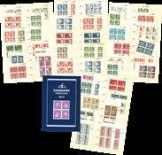 Danemark - Collection blocs marginaux supérieurs