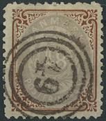 Danmark - 1870 48 sk. brun/lilla