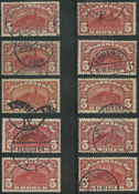 Danmark - 5 kr. posthuse