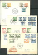 Sweden - 25 old first day covers