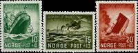Norge - Skibsbrud, efterladte 1944