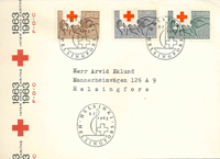 Finland FDC 1963 - LAPE nr. 568-569