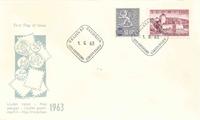 Finland FDC 1963 - LAPE nr. 571-572