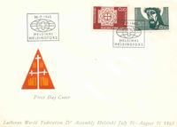 Finland FDC 1963 - LAPE nr. 573-574