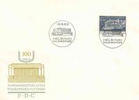 Finland FDC 1963 - LAPE nr. 576