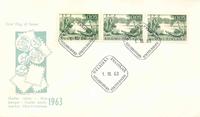 Finland FDC 1963 - LAPE nr. 578