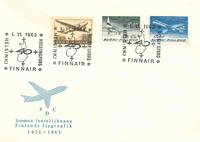 Finland FDC 1963 - LAPE nr. 579-580