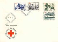 Finland FDC 1964 - LAPE nr. 588-591