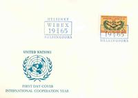 Finland FDC 1965 - LAPE nr. 596