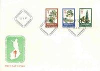 Finland Env.premier jour 1967 - LAPE no. 623-625