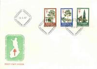 Finland FDC 1967 - LAPE nr. 623-625