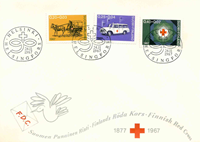 Finland FDC 1967 - LAPE nr. 630-32