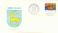 Finland FDC 1972 - LAPE nr. 704